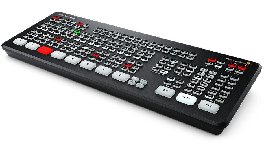 Blackmagic анонсировала микшер ATEM Mini Extreme и Web Presenter HD