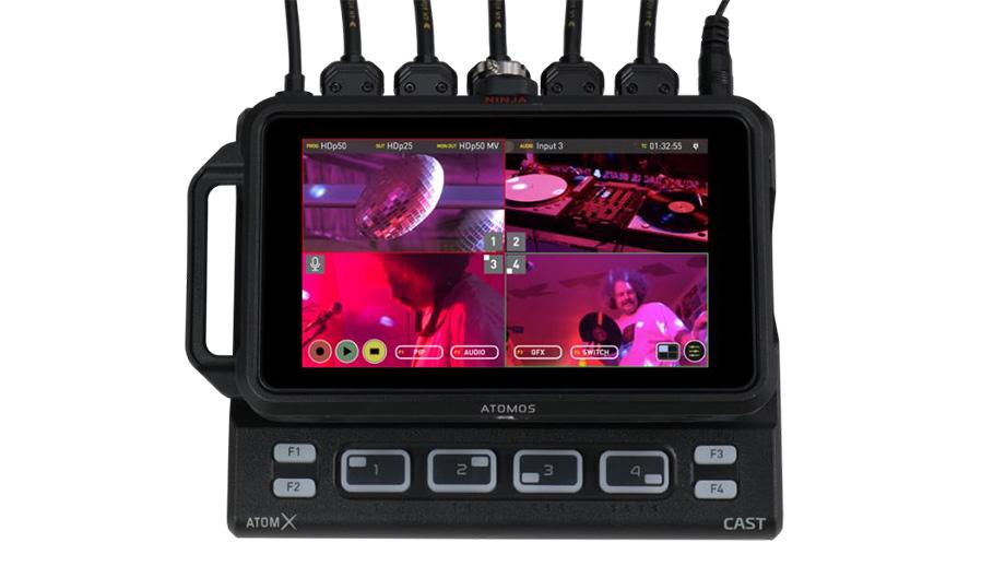 Модуль расширения AtomX CAST для Atomos Ninja V для прямых трансляций