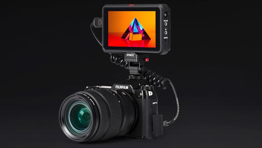 Рекордер Atomos Ninja V позволит записывать ProRes RAW с камеры Fujifilm GFX100S