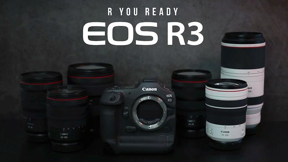 Canon EOS R3 – новая порция информации от CanonAsia