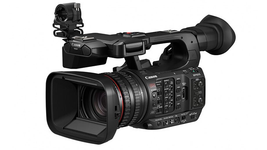 Представлена видеокамера Canon XF605