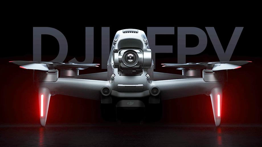 Анонсирован дрон DJI FPV: 0-100 км/ч за 2 секунды и новый контроллер движения