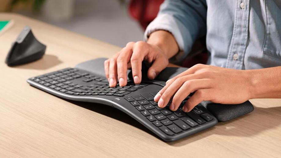 Logitech ERGO K860 – новая эргономичная клавиатура
