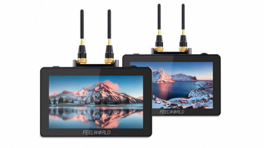 Feelworld FT6 и FR6 – комплект мониторов с функций видеосендера
