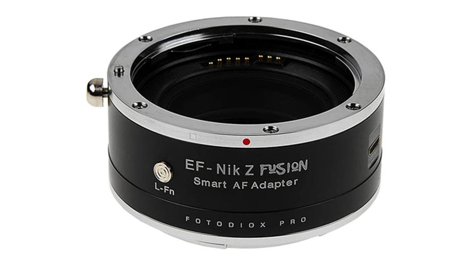 Адаптер Fotodiox FUSION позволит установить объективы Canon EF на камеры Nikon Z