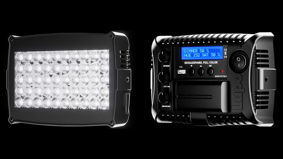 Накамерный LED светильник Lupo Kickasspanel RGBWW