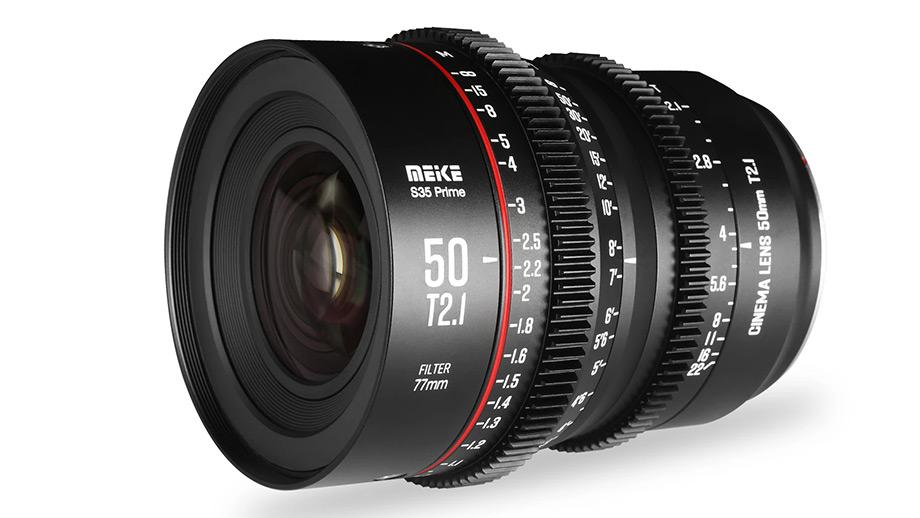 Meike 50mm T2.1 s35 Cine – киношный объектив для EF и PL