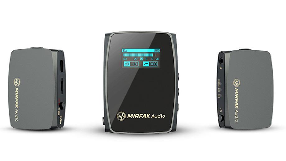 MIRFAK Audio WE10 Pro – компактная радиосистема