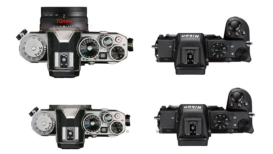 Новые слухи о Nikon APS-C с байонетом Z в ретродизайне