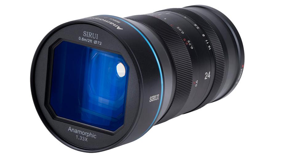 SIRUI 24mm F2.8 Anamorphic 1.33x – старт продаж