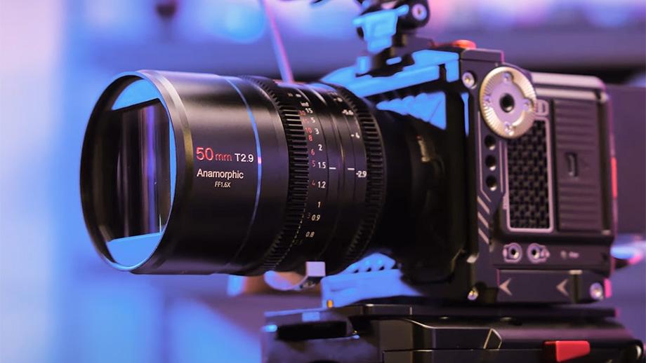 Анаморфотный SIRUI 50mm T2.9 1.6x для полного кадра на Indiegogo