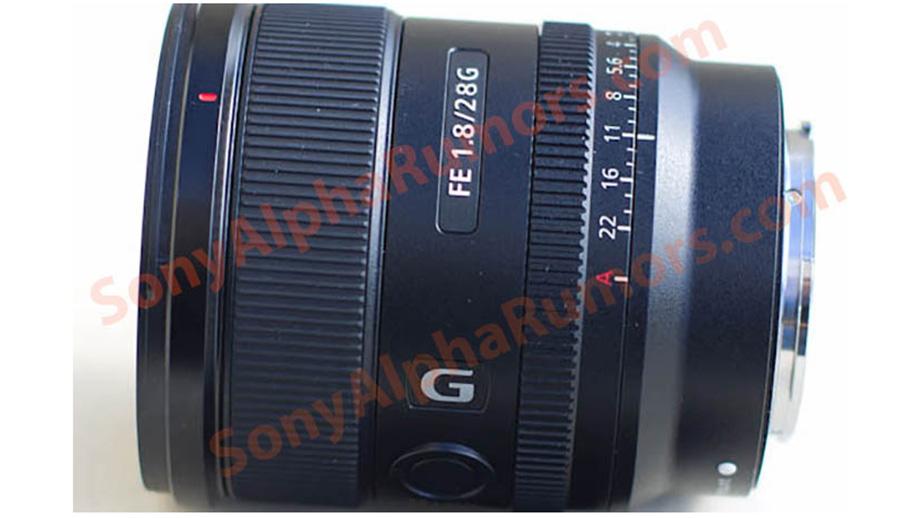 Появилось первое изображение объектива Sony 28mm f/1.8 G