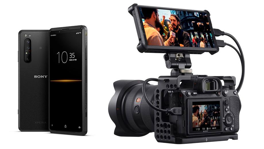 Смартфон Sony Xperia Pro в качестве 4K-монитора для стримов