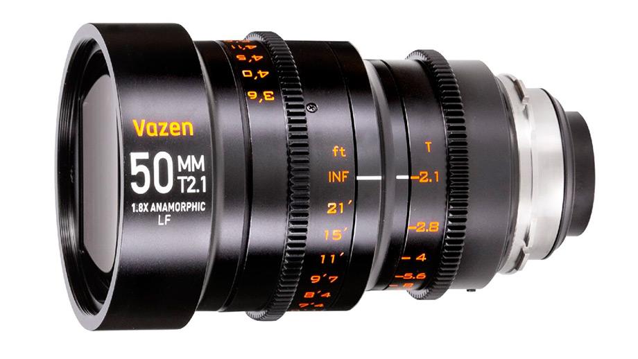Новый анаморфотный объектив Vazen 50mm T2.1 1.8X Anamorphic