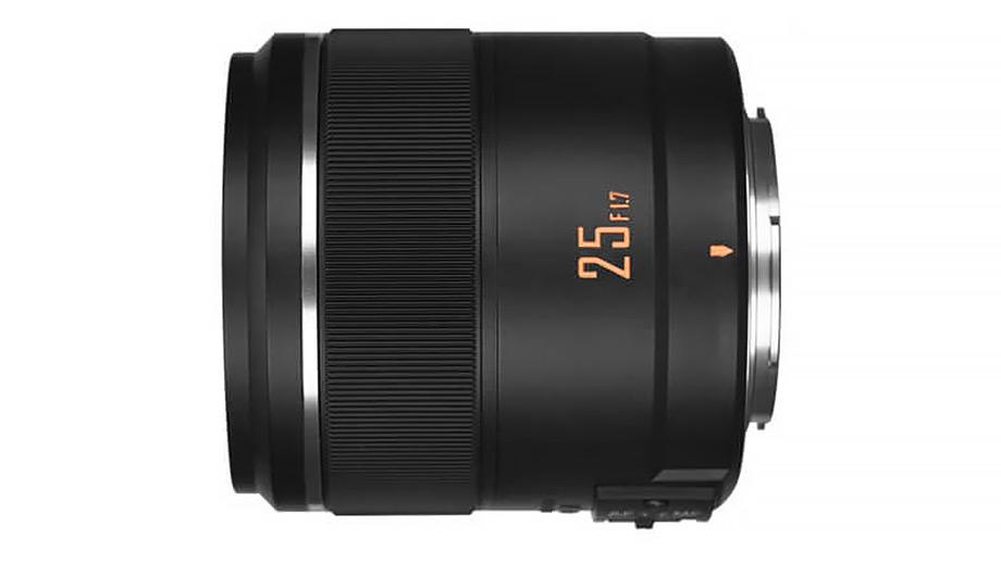 Новый объектив Yongnuo 25mm f/1.7 STM ASHP для MFT