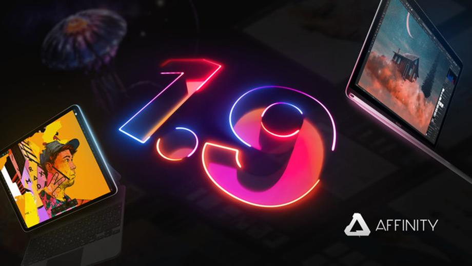 Три приложения Affinity получили обновления до версии 1.9