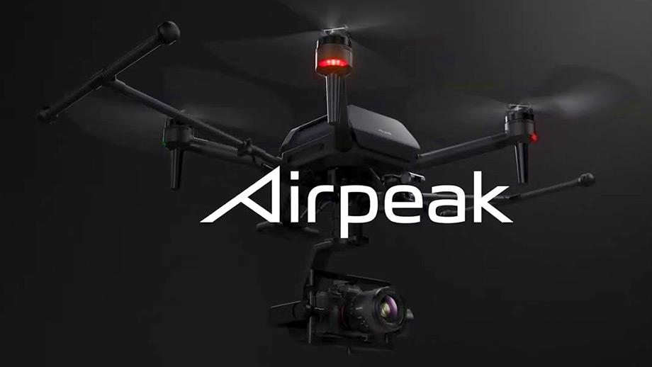 Новая информация о дроне Airpeak от Sony
