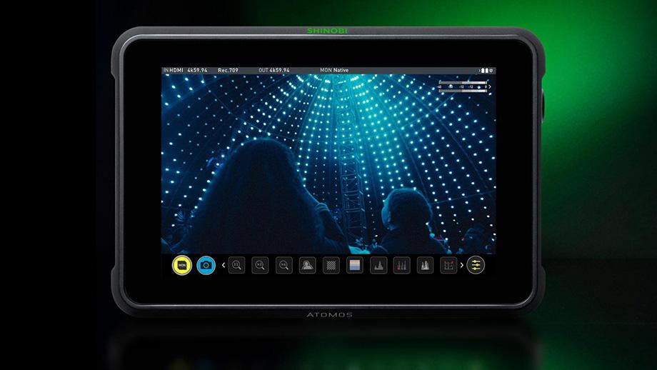 Atomos Shinobi 7 – яркий накамерный монитор