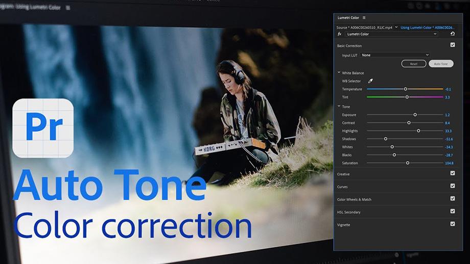 Adobe Premiere Pro добавляет Auto Tone для Lumetri
