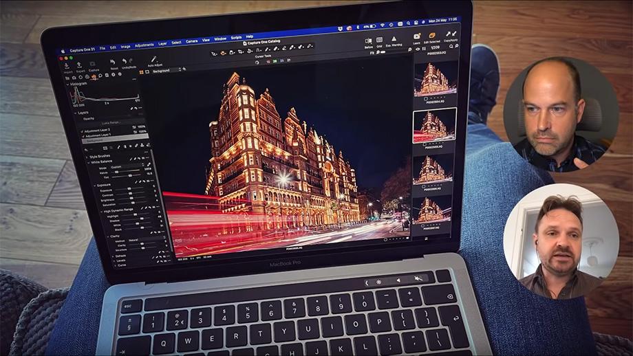Capture One теперь совместима с Apple M1