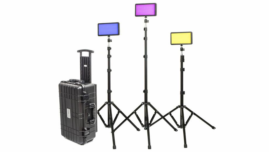 Комплект светодиодных ламп CAME-TV P-20R RGBWW