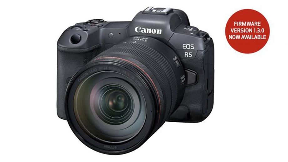 Прошивки для Canon EOS-1D X Mark III, EOS R5 и EOS R6
