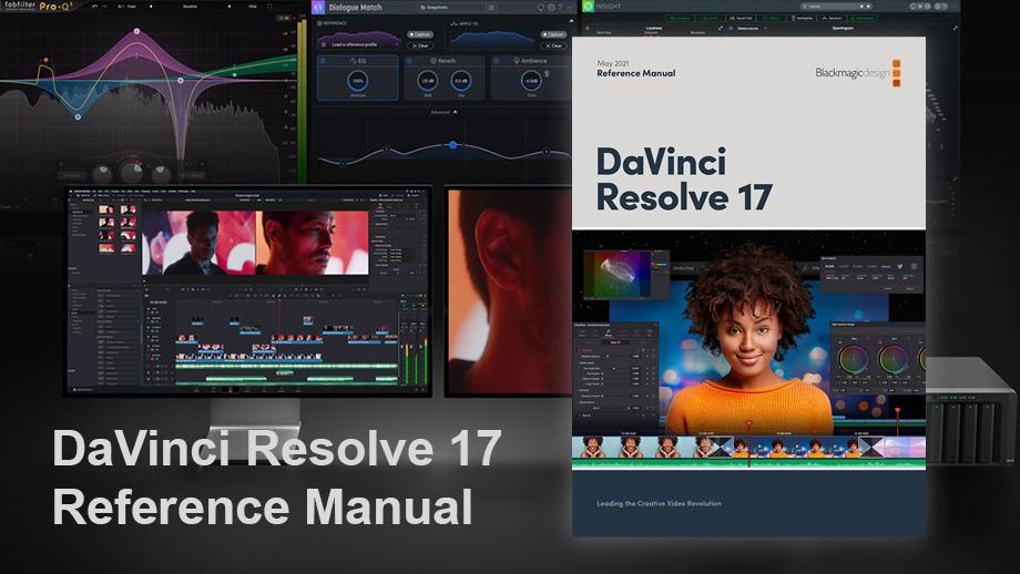 Инструкция для DaVinci Resolve 17 на 3588 страницах