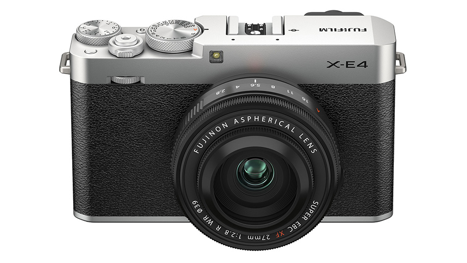 Fujifilm X-E4, небольшая беззеркалка 26 Мп