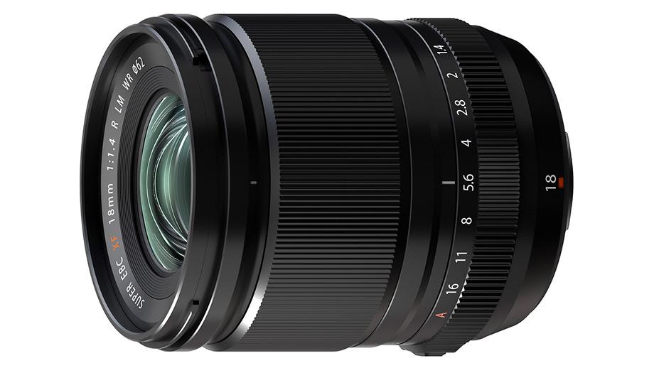 Официальный анонс Fujifilm XF 18mm F1.4 R LM WR