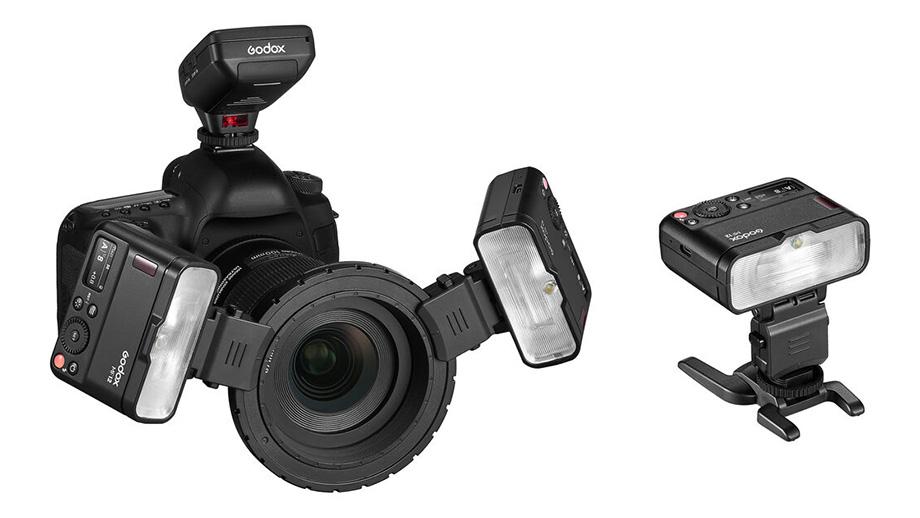 Вспышка Godox Macro Flash MF12 для предметной съёмки