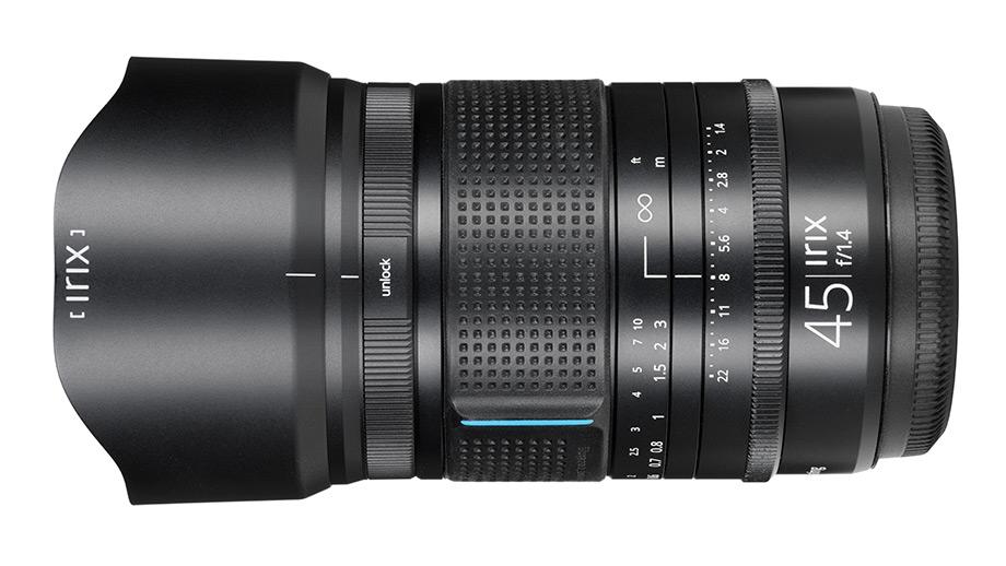 Объектив Irix 45mm f/1.4 GFX представлен официально