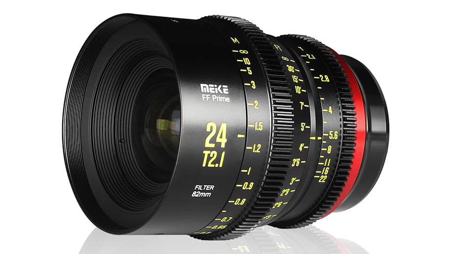 Киношный объектив MEIKE 24mm T2.1 для полного кадра
