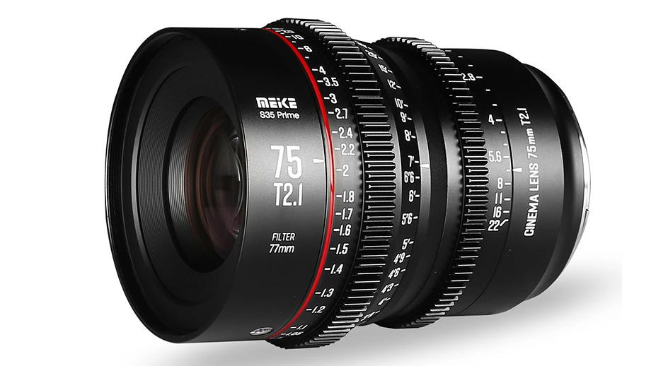 Киношный объектив MEIKE 75mm T2.1 S35 Cine для PL и EF