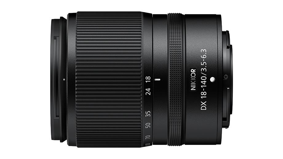 Разработка зума NIKKOR Z DX 18-140mm f/3.5-6.3 VR