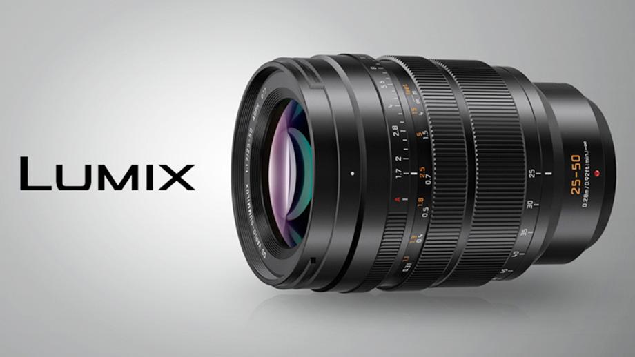 Panasonic представила объектив Leica DG Vario-Summilux 25-50mm F1.7 ASPH