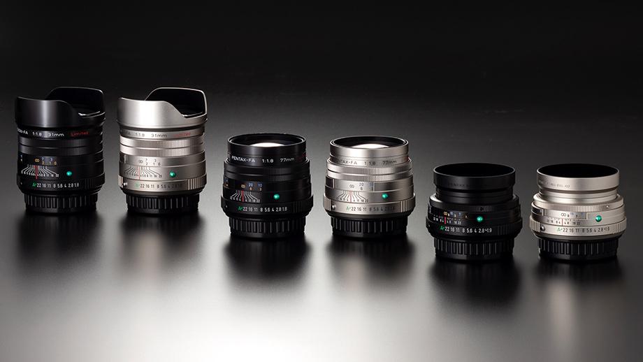 HD PENTAX FA-Limited: три новых объектива легендарной серии