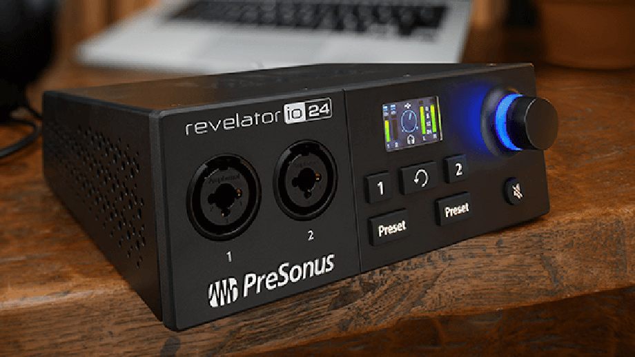 Аудиоинтерфейс PreSonus Revelator io24 с DSP-процессором