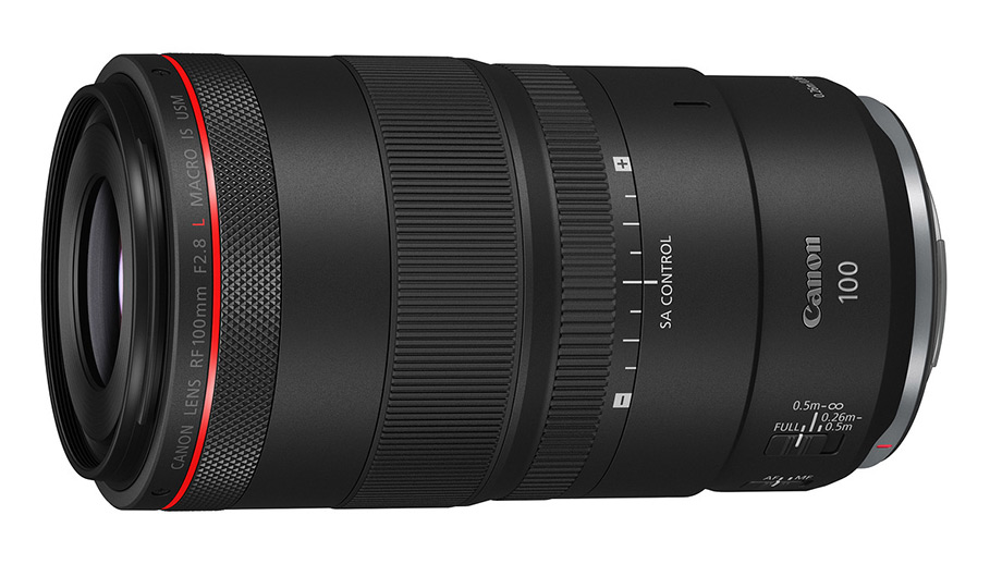Новый макрообъектив Canon RF 100mm F2.8L Macro IS USM