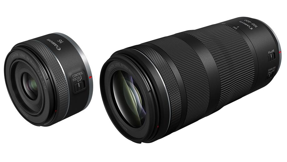 Canon выпускает объективы RF 16mm f/2.8 и RF 100-400mm f/5.6-8