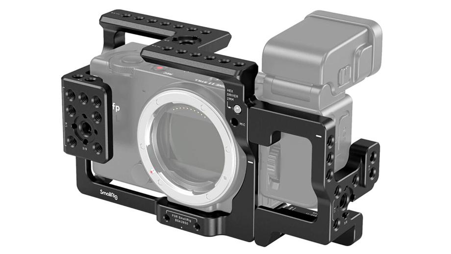 SmallRig и SIGMA совместно разработали риг для камер серии SIGMA fp