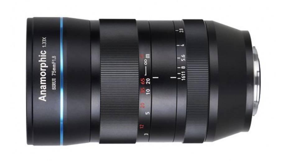 Анаморфотный объектив SIRUI 75mm f1.8 1.33x на Indiegogo