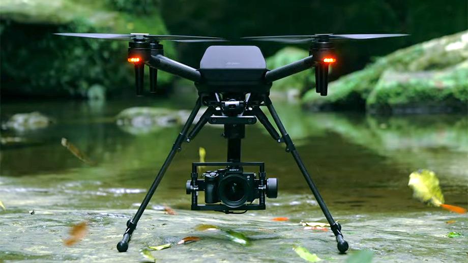 Sony проводит полевые испытания дрона Airpeak
