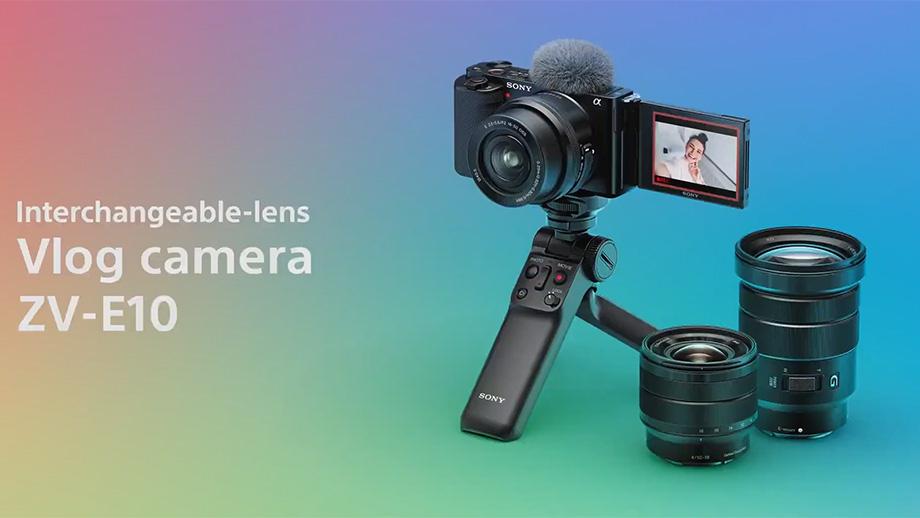 Камера для блогеров Sony ZV-E10 официально представлена