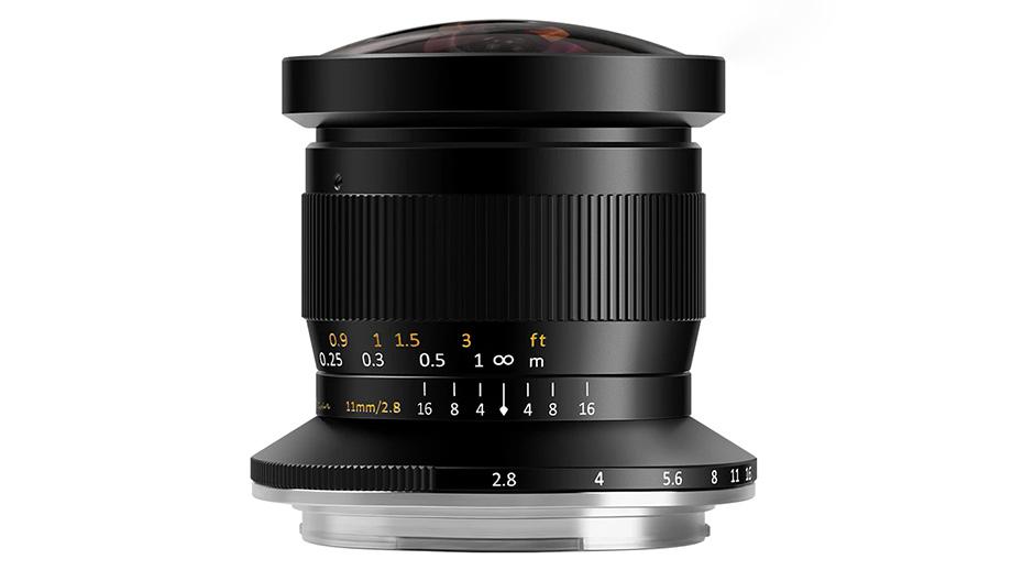 Фишай TTArtisan 11mm F2.8 для среднеформатных Fujifilm GFX