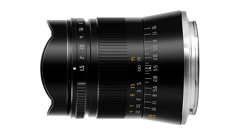 TTArtisan 21mm F1.5 для Nikon Z и Sony E