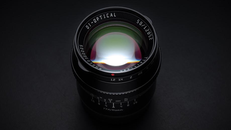 TTartisan 50mm F1.2 APS-C для камер Leica L и Nikon Z
