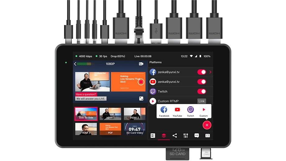 YoloLiv Yolobox Pro – монитор, рекордер и микшер для трансляций