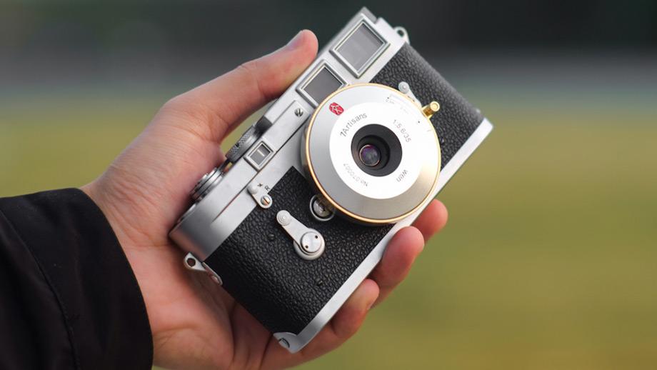 Блинчик 7artisans 35mm f/5.6 для Leica M-mount
