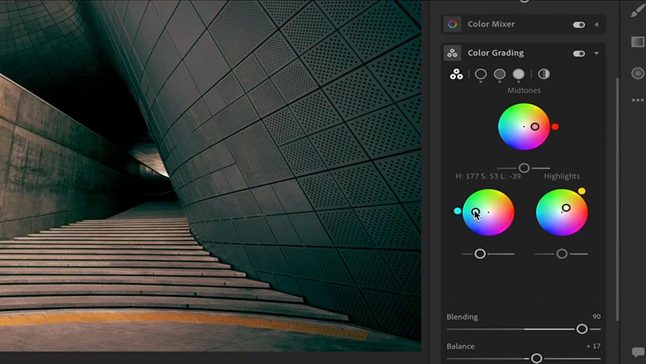 Adobe анонсировала инструмент цветокоррекции Advanced Color Grading