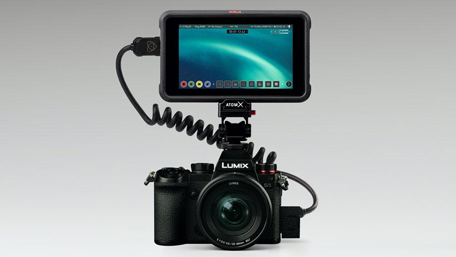 5.9K ProRes RAW с полного кадра Panasonic S5